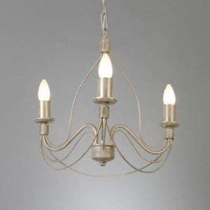 WROUGHT IRON - CHANDELIER > A003