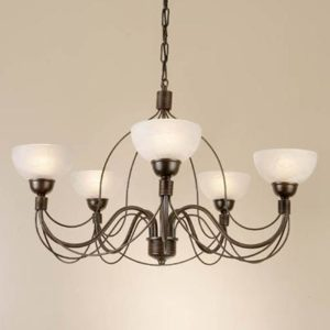 WROUGHT IRON - CHANDELIER > A005
