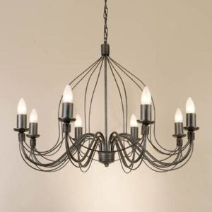 WROUGHT IRON - CHANDELIER > A008