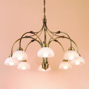 WROUGHT IRON - CHANDELIER > A018
