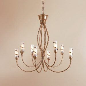 WROUGHT IRON - CHANDELIER > A048
