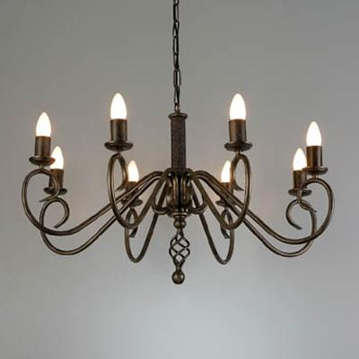 Wrought iron chandeliers a076 progress group wrought iron chandeliers a076 aloadofball Images