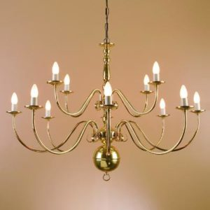 WROUGHT IRON - CHANDELIER > A0912