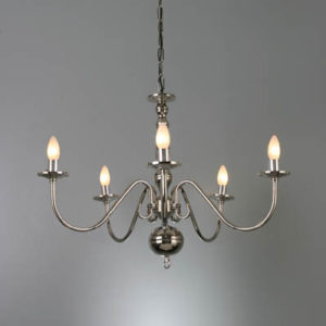 WROUGHT IRON - CHANDELIER > A095