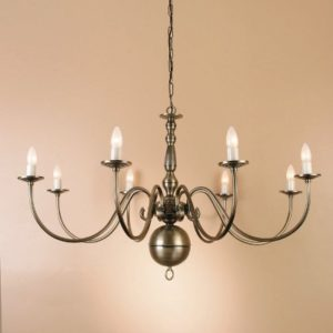 WROUGHT IRON - CHANDELIER > A098