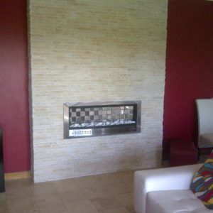 Contemporary Vent Free Gas Fireplace