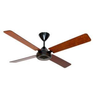 High Breeze Black 4 Blade Mahogany